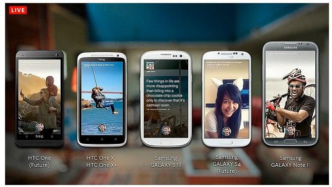 """Facebook stellt eigenen Android Launcher """"Facebook Home"""" und """"HTC first"""" Phone vor"""