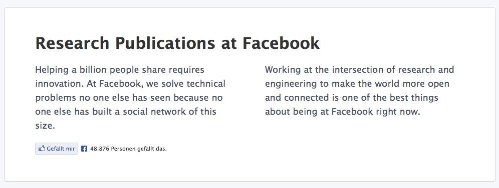 Geballtes Wissen: Facebook veröffentlicht Archiv wissenschaftlicher Arbeiten
