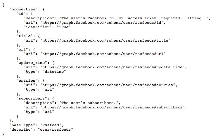 Hinweis im Code: Facebook arbeitet an RSS-Reader Integration?