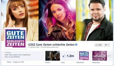 GZSZ lässt Charaktere auf Facebook zu Wort kommen