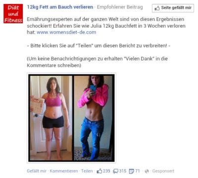 Nutzer als Klickvieh: Facebook-Ads, die einen für dumm verkaufen