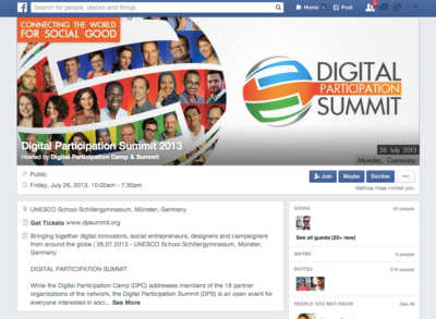 Facebook-Events nun mit komplett neuem Design, welches sich extrem an den Facebook Gruppen orientiert