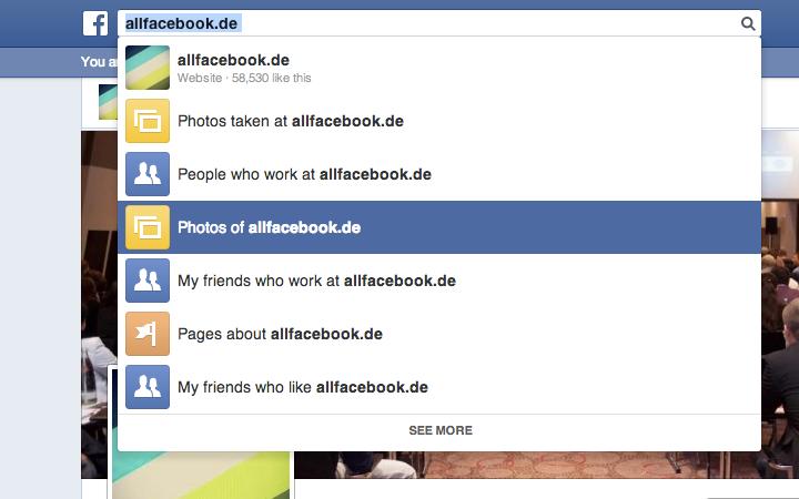 """Graph Search: Jetzt für jeden (der Facebook in """"English US"""" nutzt) verfügbar!"""
