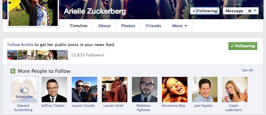 Facebook-Test: Vorschläge nun auch bei der Abonnieren-Funktion