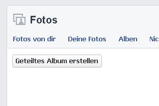Shared Albums: Facebook führt Alben ein, die mit Freunden geteilt und gemeinsam bearbeitet werden können