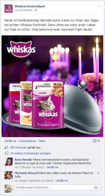 Whiskas Katzentag
