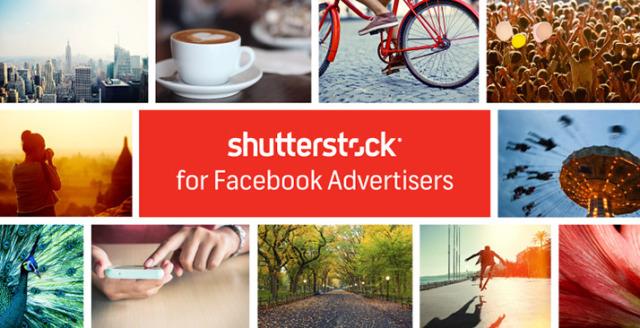 Neues Feature: Bei Facebook-Anzeigen kostenlos auf das Archiv von 25 Millionen Stockfotos bei Shutterstock zugreifen!