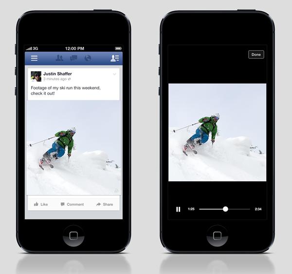 Facebook testet mobile Autostart Videos in Amerika