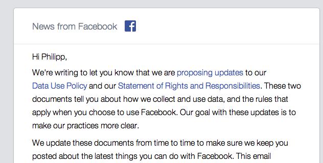 Facebook ändert die Datenschutzbestimmungen – Ein Überblick über die Änderungen und deren Auswirkungen