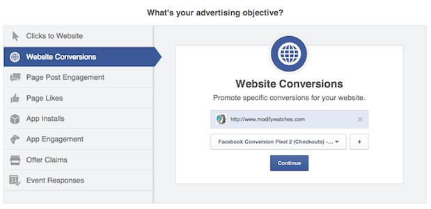 Facebook bald mit zieloptimierten Prozess zum Erstellen von Facebook-Anzeigen