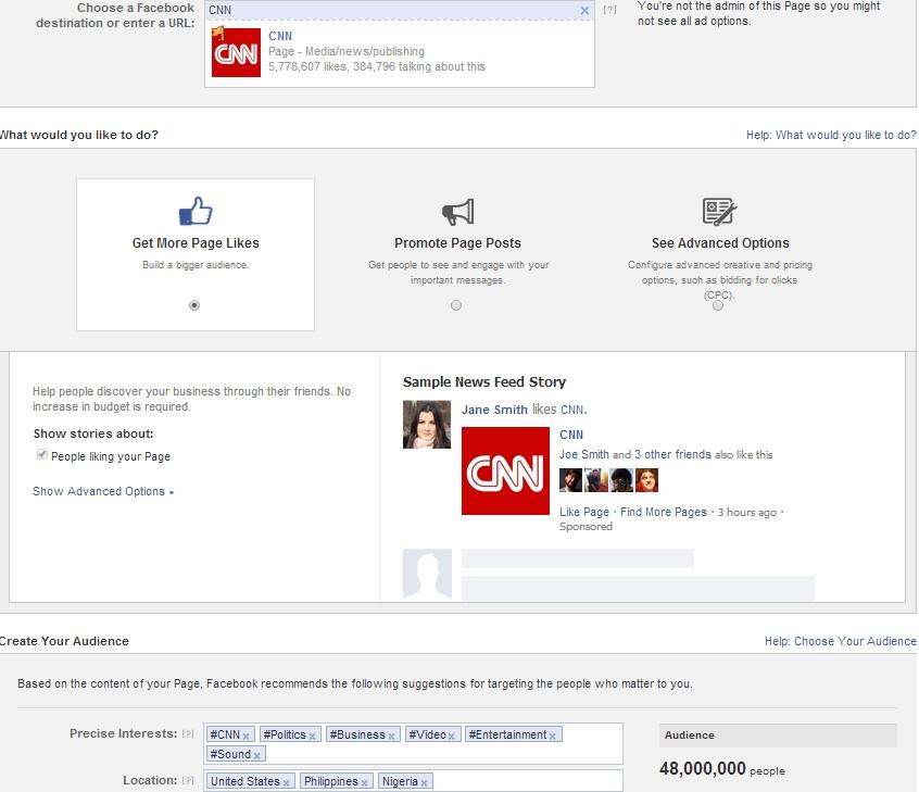 Test: Facebook hilft Werbern beim Targeting