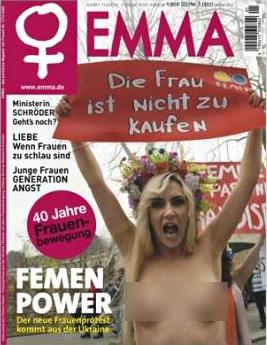 Das Magazin Emma, musste sein Magazincover zensieren, bevor es bei Facebook dafür Werbung machen durfte. Grund waren die sichtbaren Brüste auf dem Magazinumschlag.