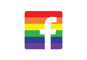 Facebook Rainbow / Regenbogen Logo
