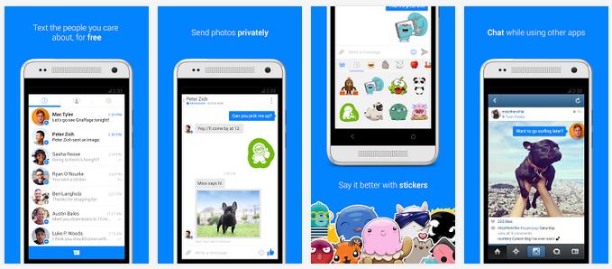 Facebook Messenger für Android mit Beta-Programm
