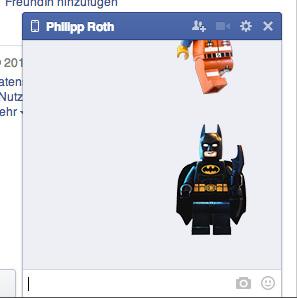 Sticker im Chat