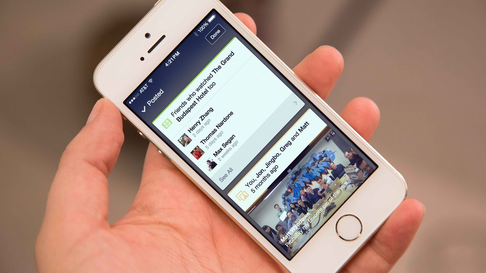 """Facebook testet """"Context Cards"""" – ein Feature inspiriert von Foursquare"""