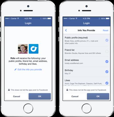 Video Workshop: Der neue Facebook Log-in