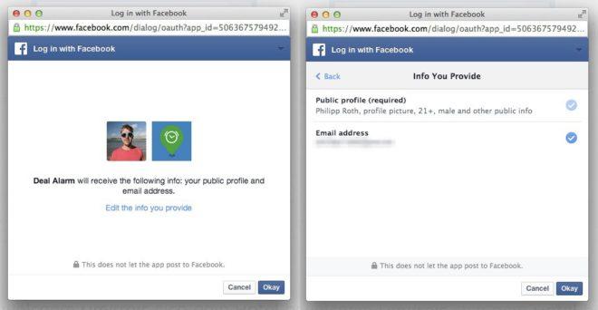 login-facebook-beispiel