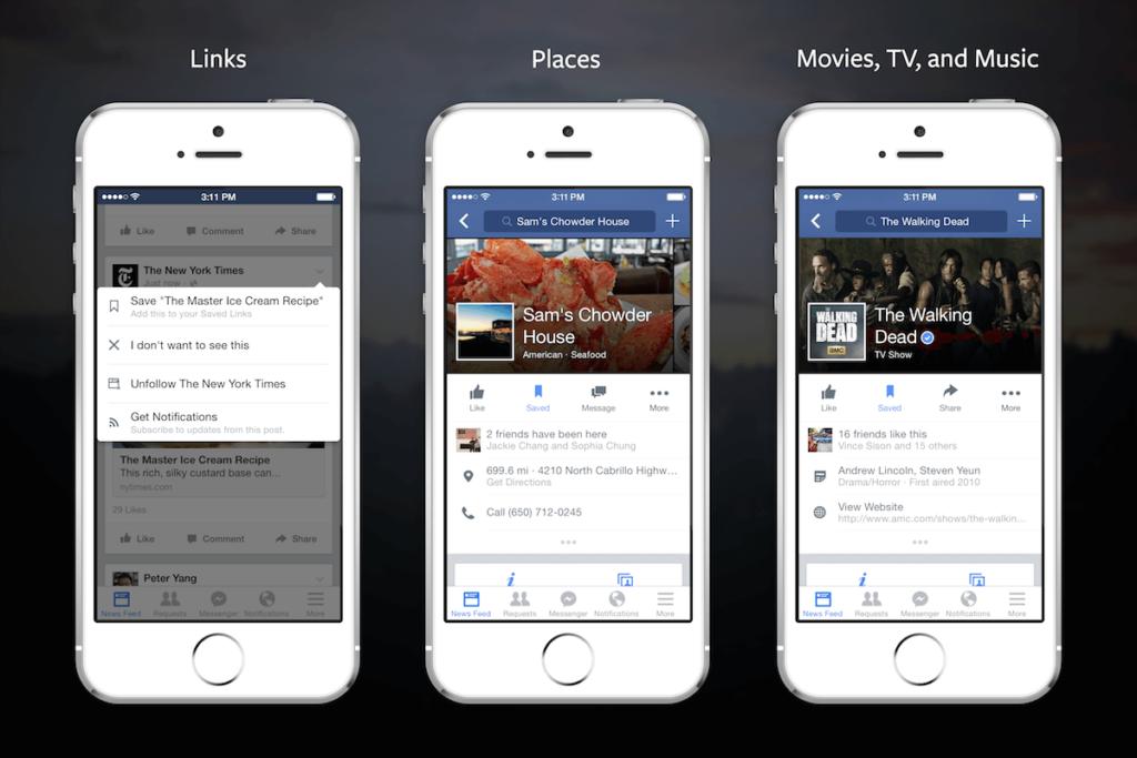 "Facebook ""Save for Later""-Funktion jetzt überall verfügbar"