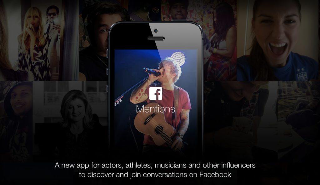 Facebook Mentions – Die mobile App, die fast alle leider nicht nutzen dürfen …