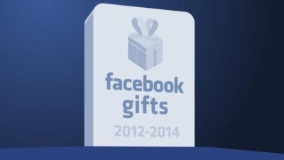 Facebook Gifts werden eingestellt … schon wieder