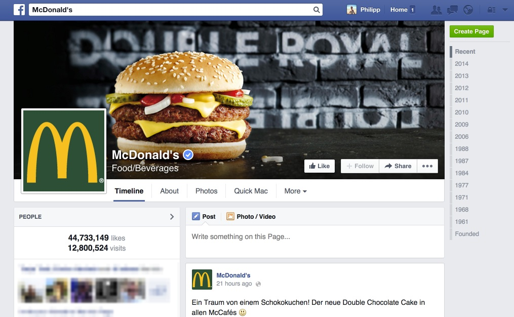 McDonald's: Zwischen Brand-Love & -Hate @AFBMC