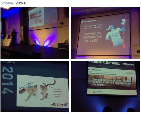 Bilder von der Keynote