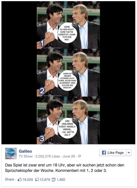 Galileo - Das Spiel ist zwar erst um 18 Uhr, aber wir suchen jetzt... 2014-12-03 14-36-21