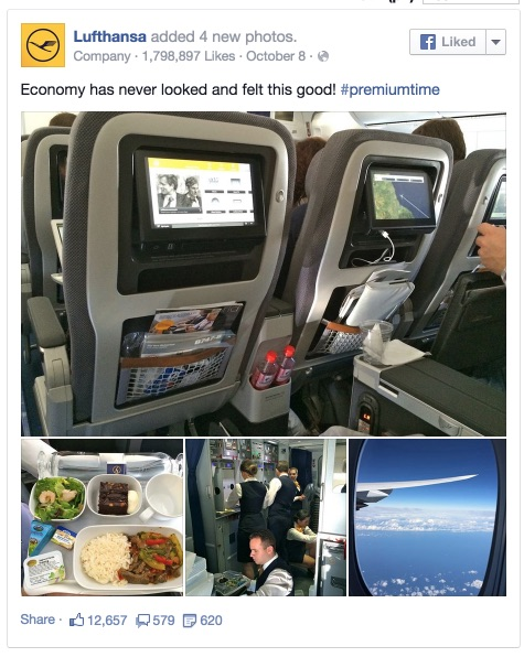 Lufthansa - Economy has never looked and felt this good! #premiumtime 2014-12-03 14-46-14