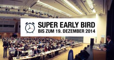 Nur noch bis Freitag: Super-Frühbucherpreis für die AllFacebook Marketing Conference