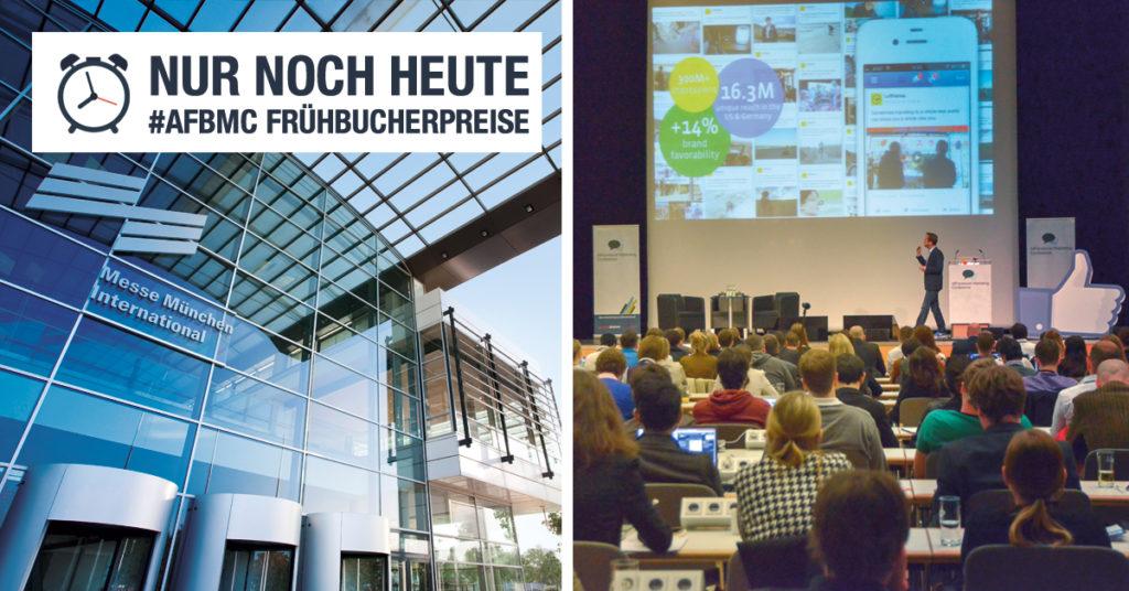Nur noch HEUTE: Frühbucherpreise für die AllFacebook Marketing Conference am 17. März 2015