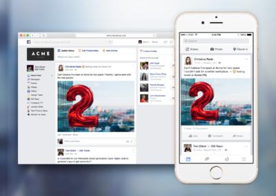 Facebook at Work: Testphase beginnt ab heute!