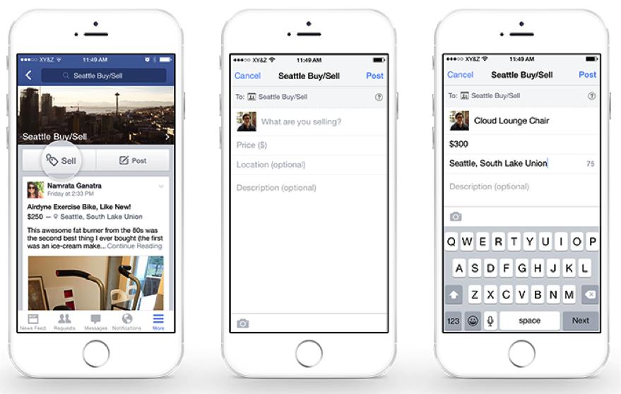 Jetzt offiziell: Einfaches Kaufen und Verkaufen dank neuer Funktion in Facebook-Gruppen