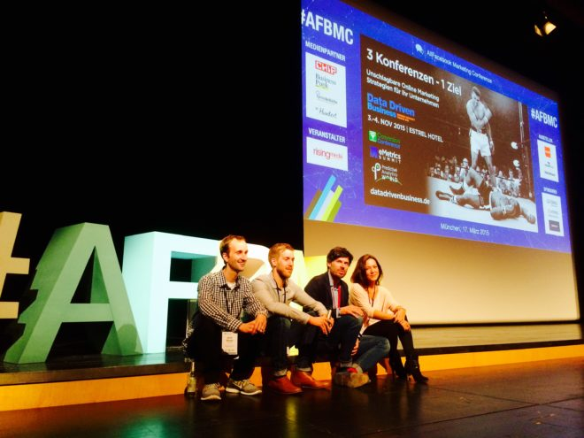 Allfacebook Marketing Conference 2015 Organisatoren und Moderatoren