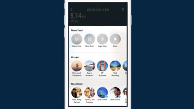 Neues Facebook Share Sheet: Einheitliches Teilen von Inhalten aus Apps in den Newsfeed, den Messenger oder Gruppen