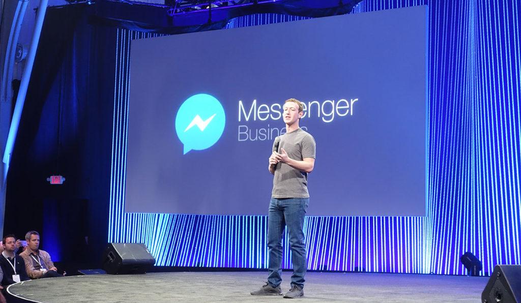 """""""Messenger for Business"""" – Facebook will eine natürlichere Kommunikation zwischen Nutzer und Unternehmen im Messenger, liefert allerdings kaum Details dazu."""