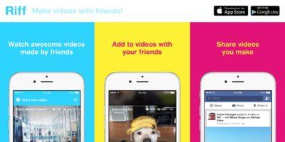 """""""Riff"""" – Facebooks neueste App lässt Nutzer gemeinsam Videos erstellen"""