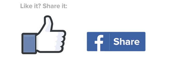 Der Share-Button, welchen Sie auch unter diesem Beitrag finden, ist rechtlich unproblematisch.