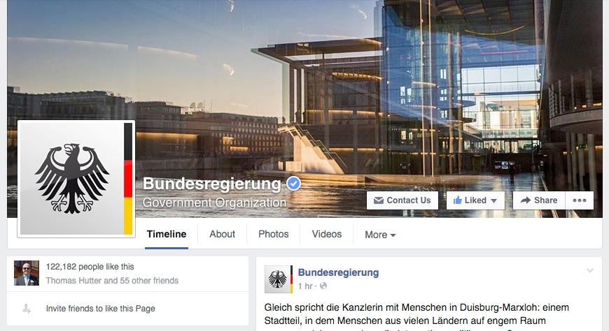 AFBMC: Die Bundesregierung ist auf Facebook UND auf der AllFacebook-Konferenz