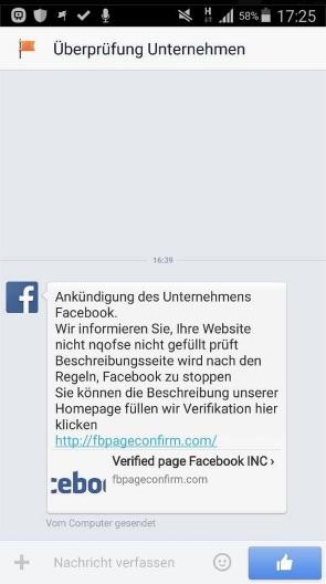 fake-verifizierung