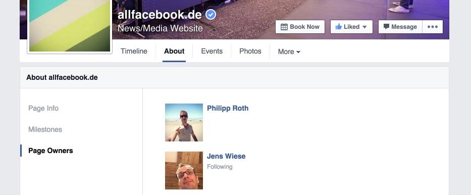 Facebook-Seiten bald mit Zwang, die privaten Accounts der Admins zu veröffentlichen?! Naja…