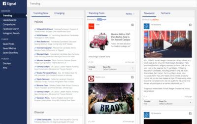 """Facebook startet mit """"Signal"""" einen Service speziell für Journalisten"""
