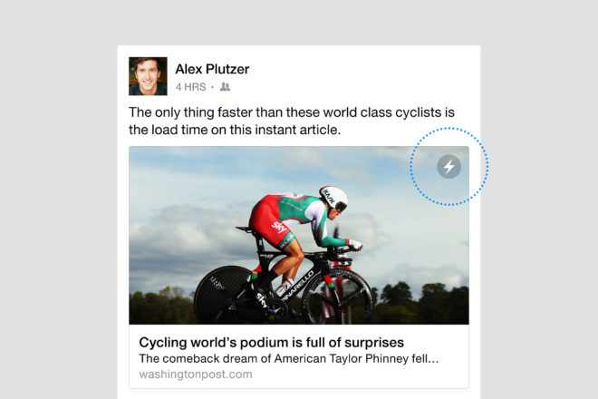 Instant Articles — Lightning Bolt