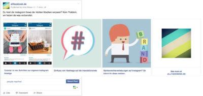 Schritt für Schritt: Facebook Carousel Posts für Pages im Publisher erstellen (Update)