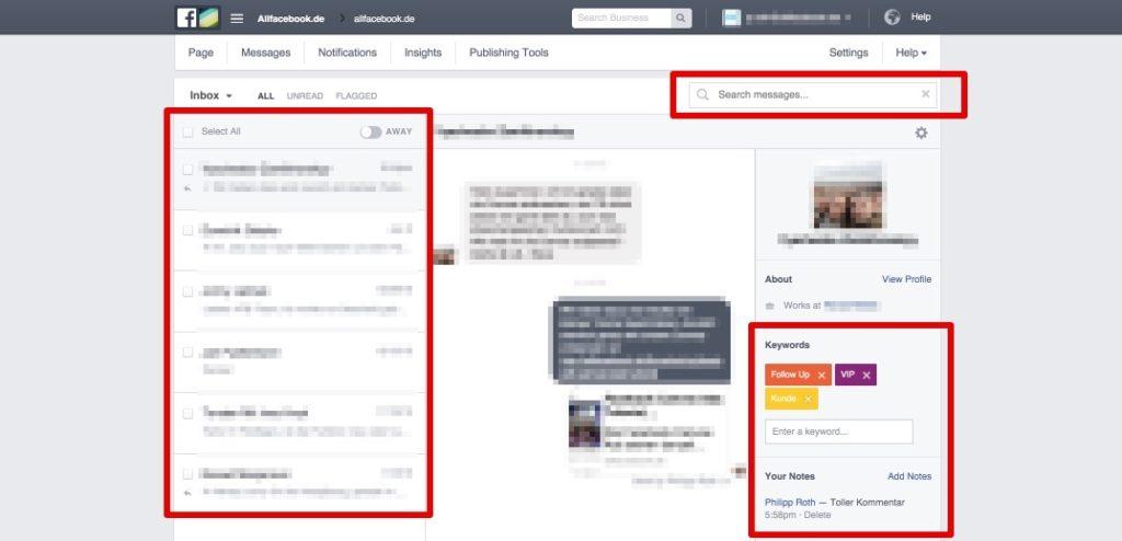 Neuer Posteingang für Seiten wird in Deutschland ausgerollt: die Funktionen im Überblick