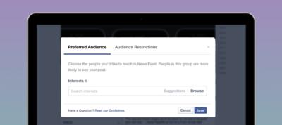 """Große Änderung für Facebook Seiten: Was die neue Zielgruppenoptimierung (""""Audience Optimization"""") ist und wie sie funktioniert"""