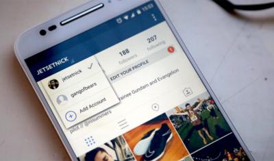 Jetzt offiziell: einfacher Accountwechsel in der Instagram App