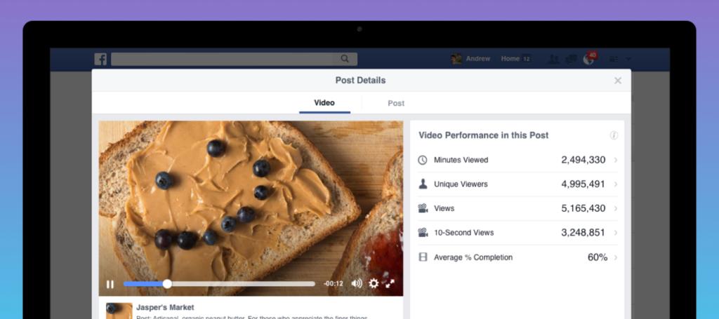 Neue Features für Facebook Videos: Verbesserte Insights, automatisierte Untertitel und neue Buchungsoptionen