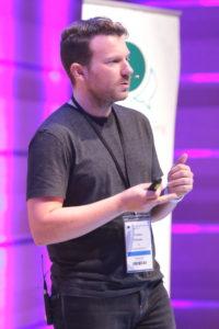 Allfacebook Marketing Conference Torben Einicke zu Snapchat und Strategien von Marken, (C) Scott Davidson