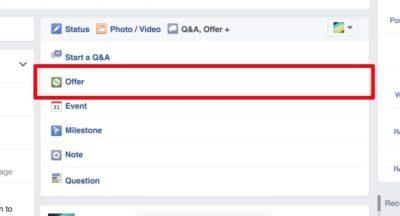 Im Test: Neue Features für Facebook Angebote